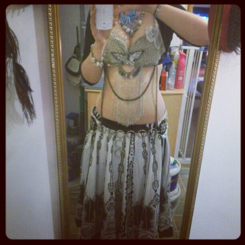 And here's the beautiful skirt on <333 (Taken with instagram)