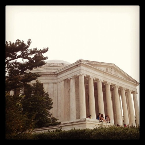 Jefferson Memorial (Taken with Instagram at Thomas Jefferson Memorial)