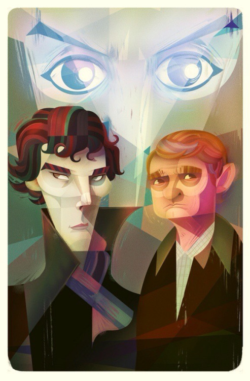 becks28nz:  Sherlock by ~@LooLooRae
