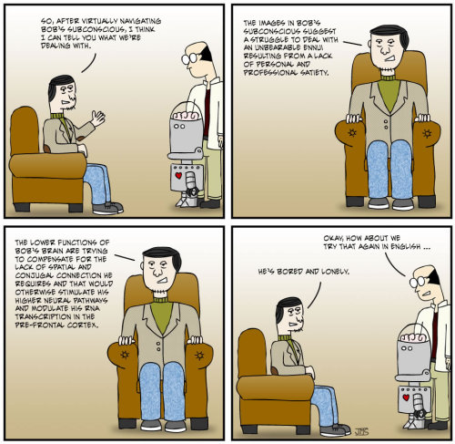 The Petri Dish - Strip 23 - I Don't Speak Psychologist