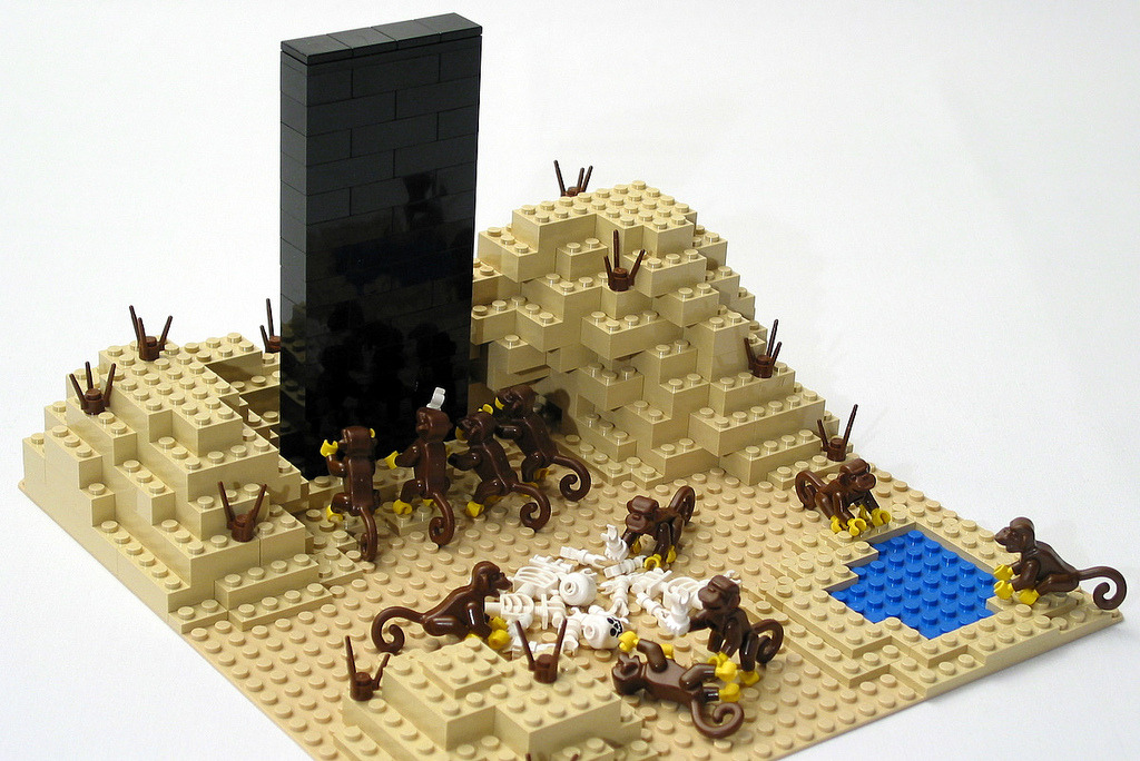 2001: The Dawn of Man (in Lego)