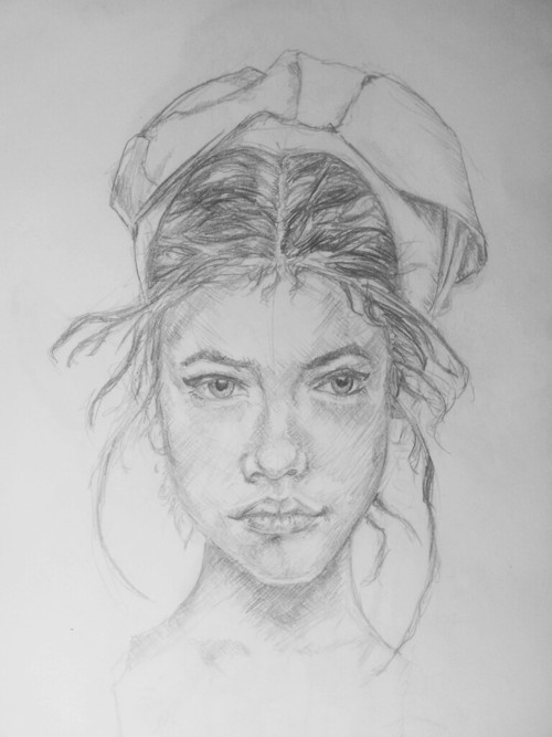 welovebarbarapalvin:  A drawing by fbspin  That's right, I drew that :) I'm a drawer