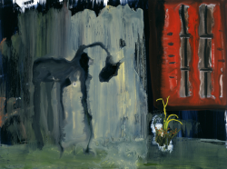 John Lurie Panther outside of house as photographed by Abraham Zapruder 2006 Fredericks & Freiser, New York