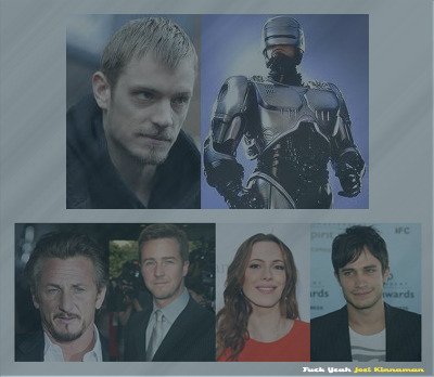 "{TB EXCLUSIVE} ""Robocop"" Recruits Hot Hollywood Talent!April 12, 2012With Joel Kinnaman recently tapped to star, and a Summer 2013 release date set, ROBOCOP (REMAKE) has been generating more and more buzz with every day that passes. MGM is adding fuel to the excitement fire as it is in negotiations with several new stars to light up the cast.Following faithfully in the vein of the original film, the pic will chronicle Alex Murphy, a top-notch officer in a future dystopian Detroit, who is brutally murdered while in the line of duty. Because of his impressive track record, he is reanimated as Robocop, a half-man half-robot hybrid designed to be a top notch answer to the crime-ridden city. Kinnaman will fill Peter Weller's shoes as Robocop and MGM is looking to give him company. Read the full article HERE."