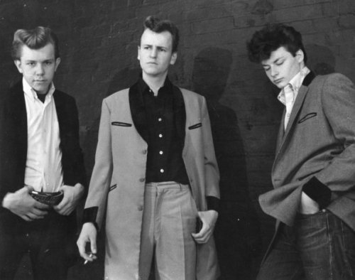 before greasers or punks there were Teddy Boys.