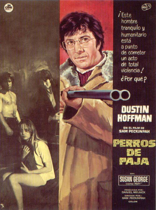 STRAW DOGS disturbing.  like, really.