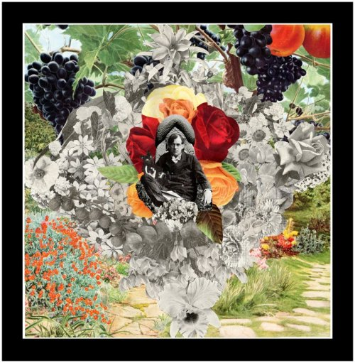 Artists in bloom collection, Ben Thompson Collage