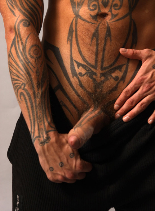 fucksleepfuck:  Who can't recognize these tattoos?