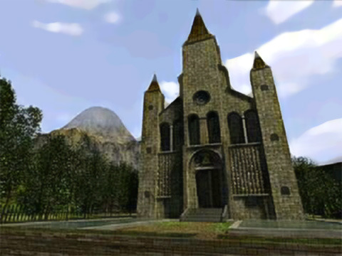 Ocarina of Time- Temple of Time Outside