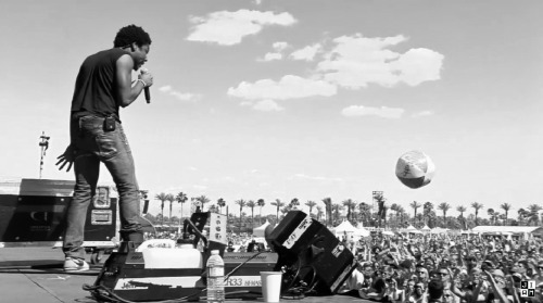 jumpinafterme:  Childish Gambino at Coachella 2012
