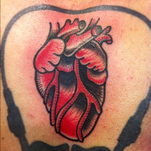 Did the heart only at the #chicago #tattoo convention today. I'm back in #kc #kansascity this Tuesday. 🍻 (Taken with Instagram at Crowne Plaza Hotel & Conference Center)