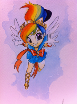 Sailor Rainbow Dash. Available at table F2 @c2e2