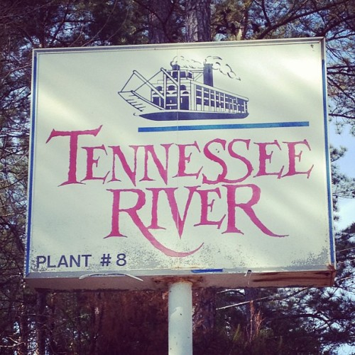 Tennessee River #sign #type #letters #tennessee (Taken with instagram)