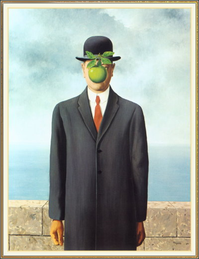 philphys:  The Son of Man, Rene Magritte