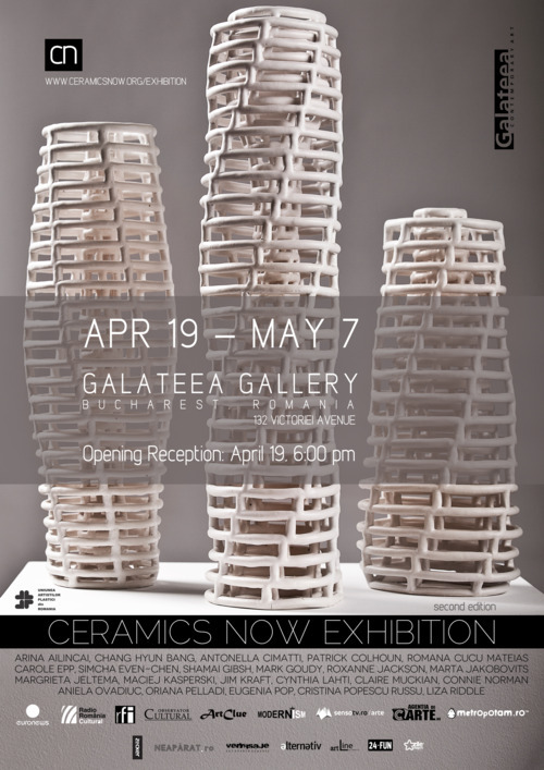 Ceramics Now Exhibition at Galateea Gallery, Bucharest