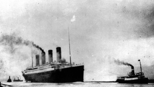 The Titanic   (yes, the original vessel prior to its untimely disappearance…)