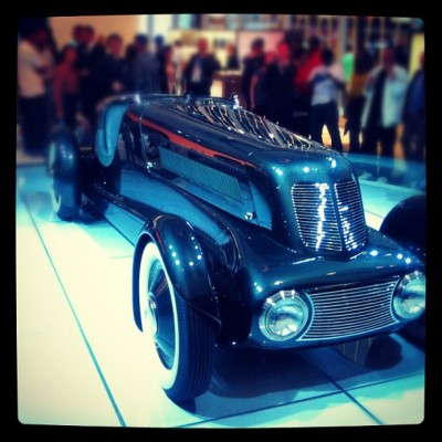 #lincoln #oldschool #hotrod #nyc #instamood #gmy #ignation #instasnap #instagood #instagram #nyautoshow  (Taken with Instagram at New York International Auto Show)