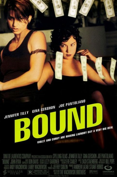 BOUND, 1996 what's in the DVD player tonight