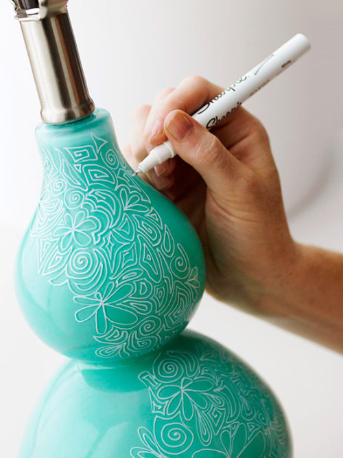 The magic of sharpie.