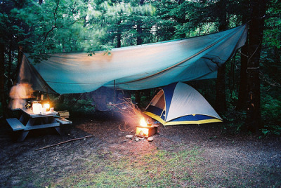 camping is calling my name.