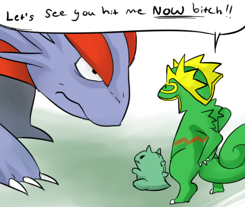 Using substitute in Pokemon. /sigh…