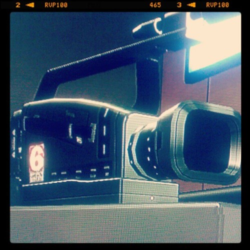 According to 'Deus Ex: Human Revolution' this is what the video camera of the nearish-future looks like! (Taken with instagram)