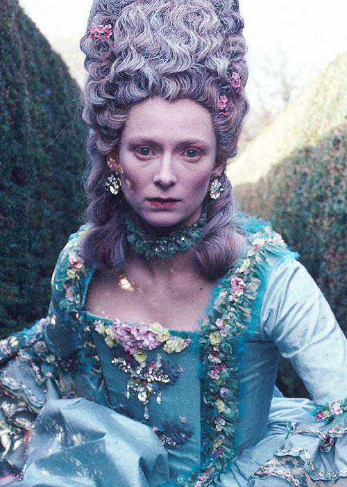 Tilda Swinton in 'Orlando', 1992.