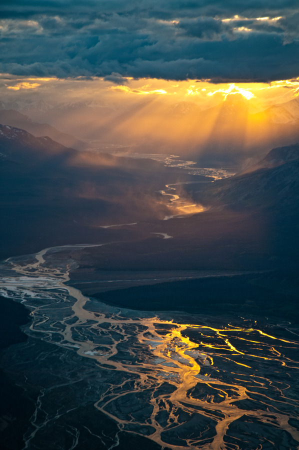 Kluane National Park and Reserve, Yukon, Canada.