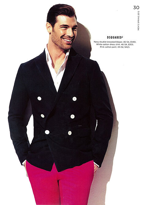 mensfashionworld:  Holt Renfrew Spring 2012