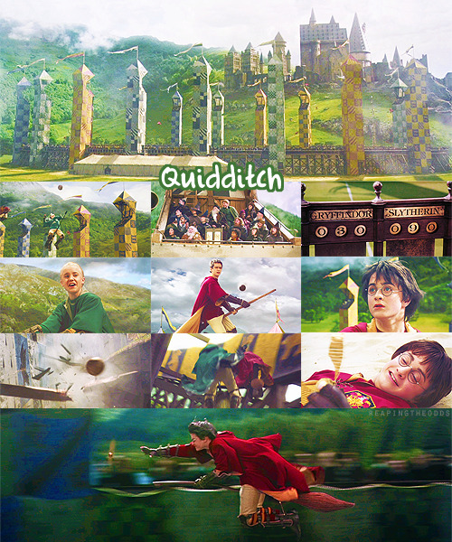 → Favorite Scene: Quidditch Match (Gryffindor vs. Slytherin)