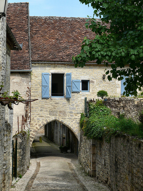 | ♕ |  Gate house in Martel - Lot, Quercy, France  | by © dynamosquito