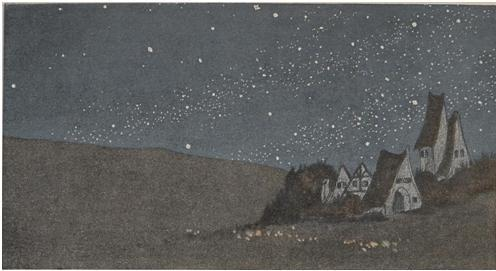 Jugend, 1906 Starry Night by Ad. Holzer