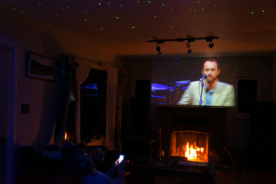 Felt like doing #Coachella in the living room this year.  #theshins are so good, what a voice!