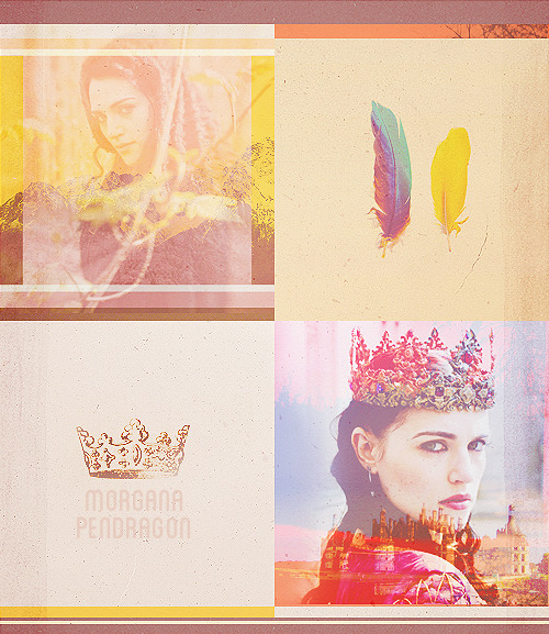 10 days of Merlin| Day 3: favorite villain Morgana Pendragon