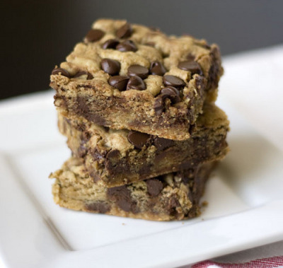 cheekyk:  Peanut Butter Blondies