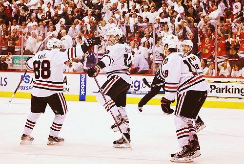 C`mon darlings…for Hossa.