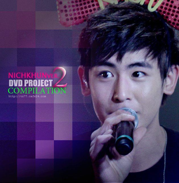 Nichkhun DVD from  (nichkhun fansite) Code: PM01 Preview:  Details (DVD): - 3 CD - 30 page photobbok - Same packaging as 1st DVD - Includes 2PM Asia Tour Hands Up Concert - Seoul / Bangkok, 2011 2PM Fan meeting (Gwangwun University) etc. Bonus: - Mouse Pad - Ball pen - Clear file ORDERS SHOULD BE IN BY APRIL 28 2012.  PRICE: 40 SGD for each DVD EXCLUSIVE OF SHIPPING SEND IN YOUR ORDERS NOW! Name: Item code: Quantity: Contact number: Email to jjangtrend@gmail.com