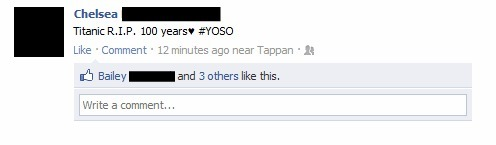 YOSO…you only sink once??