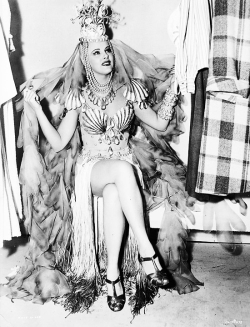 vintagegal:  Murial Barr in a mermaid costume for I Married An Angel (1942)