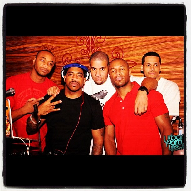 Another DOPE pic of my Industry Family @DEEJAYKNOWLEDGE @DJEFEEZY @STIXMALONE along with @DJHOLIDAY & @THEREALTANK :)