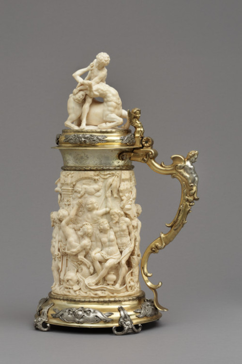 omgthatartifact:  Tankard Germany, 1651 The Victoria & Albert Museum