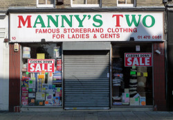 Manny's Two, East Ham High Street E12