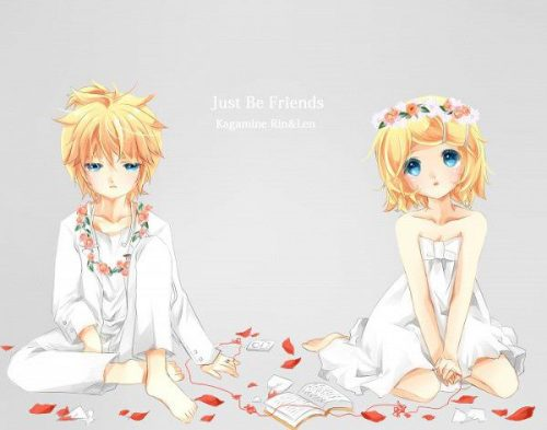 just be friends joke i love you len-kun