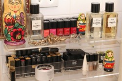 Chanel cosmetics and perfumes!