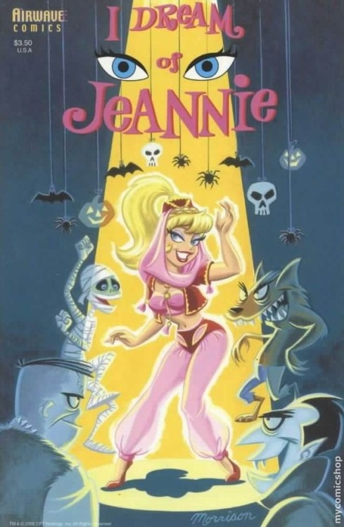 browsethestacks:  Comic - I Dream Of Jeannie (Airwave)