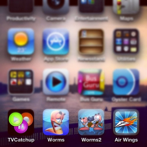 #TVCatchUp, #Worms #AirWings AirWings My iPhone Users Download!!!!  (Taken with instagram)