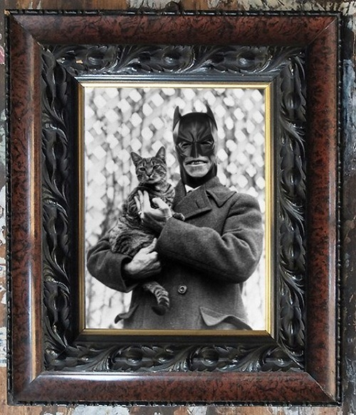 Pop Heroes and Villains Transformed in Vintage Family Photos