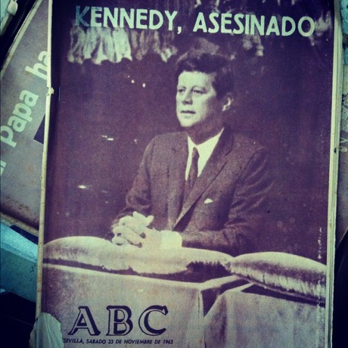 Kennedy has left the building (Tomada con instagram)