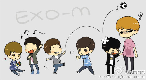 exofil:  [FAN ART] KRIS and KIDS lol cr: as tagged