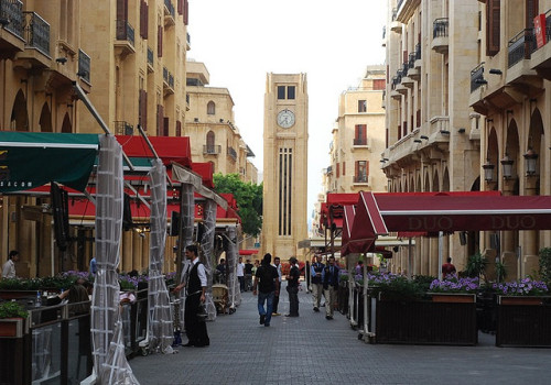 visitheworld:  Street view in downtown Beirut, Lebanon (by ♥ QTR).